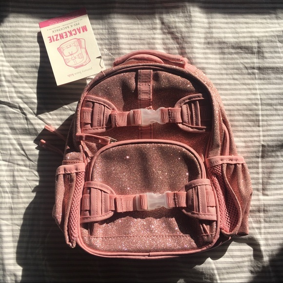 2f831d63d509 Pottery Barn Kids Mackenzie Pink Glitter Backpack